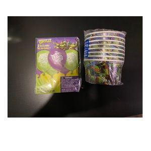 'TMNT party supplies'-BRAND NEW
